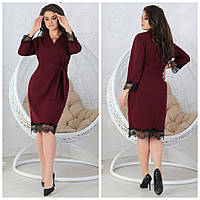 """Женское стильное платье для пышных дам """"Италия"""" Dress Code, фото 1"""