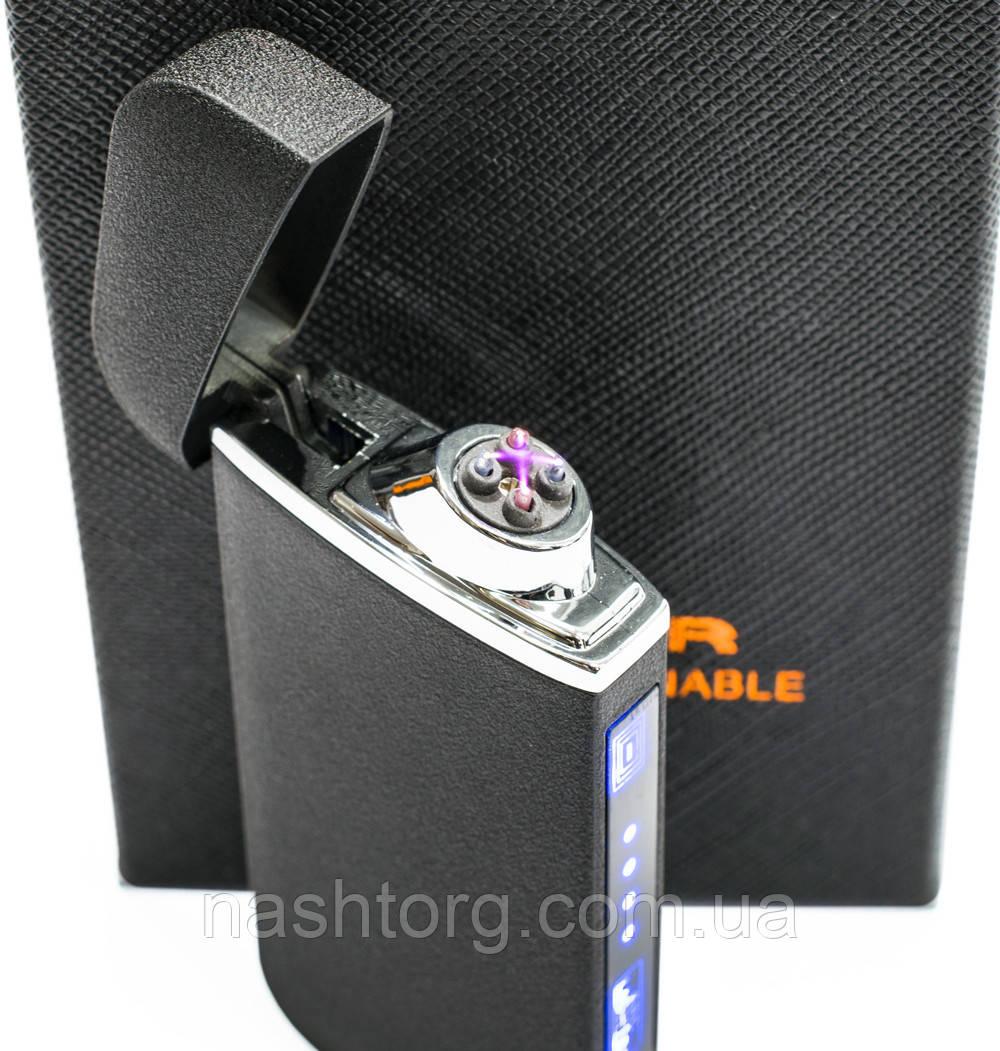 🔝 USB зажигалка электродуговая (ZGP 22 Матовая) сенсорная электрозажигалка аккумуляторная | 🎁%🚚