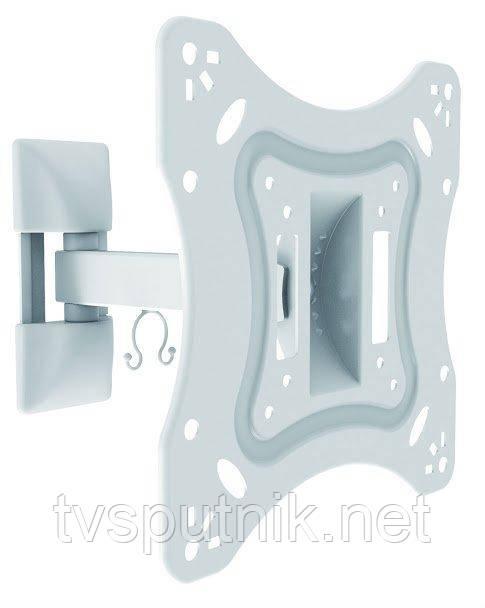 """Кронштейн ITECHmount LCD52B WHITE (23""""-42"""") белого цвета"""