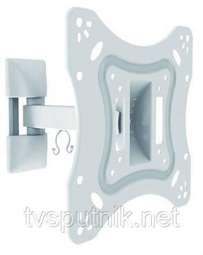 """Кронштейн ITECHmount LCD52B WHITE (23""""-42"""") белого цвета, фото 2"""
