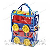 Паровоз с вагоном  в сумке