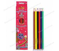 Карандаши цветные 6 цветов