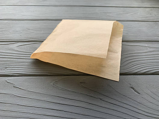 Упаковка бумажная для блинов бурая 42, фото 2
