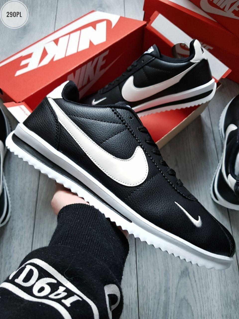 Мужские кроссовки Nike Cortez Black/White