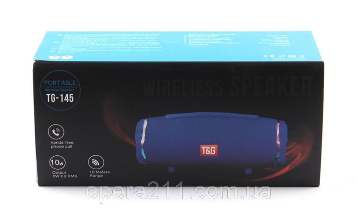 Портативная Bluetooth колонка T&G TG-145