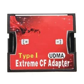 MicroSD, 2x TF - CompactFlash CF Type I адаптер