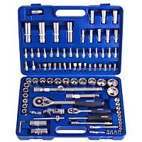 """Werker. Универсальный набор инструмента 1/4"""" & 1/2"""",  94 предм. (6 гран.) (UN-1094П-6)"""