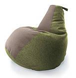 Кресло груша «Комфорт Комби» из ткани Микророгожка, фото 8
