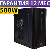 Корпус для ПК (системный блок) GTL 3137 Black, 500W, 80mm, ATX / Micro ATX / Mini ITX