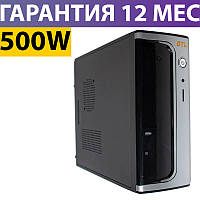 Корпус для ПК (системный блок) GTL 9815 Black 500W, 80mm, Micro ATX / Mini ITX, Кардридер