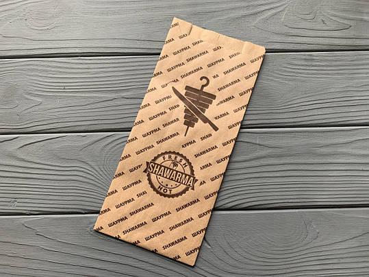 Упаковка бумажная для шаурмы 800Ф, фото 2