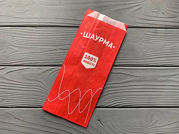 Упаковка бумажная для шаурмы 600Ф
