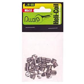 Alloid. Ремонтные резьбовые вставки M6х1.0, 25 шт/уп. (РВ-1065) (РВ-1065), фото 2