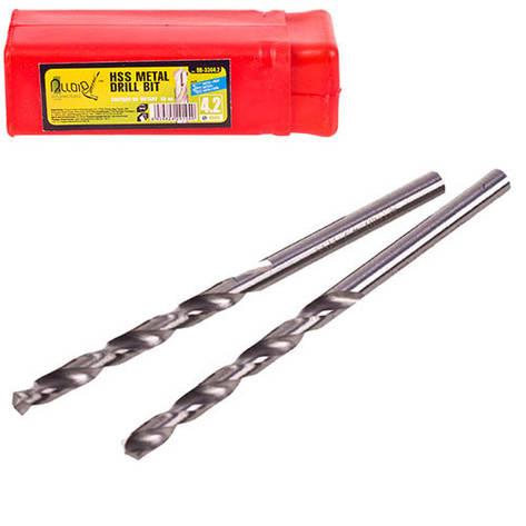 Alloid. Сверло по металлу  3,5мм DIN338 (DB-3383.5), фото 2