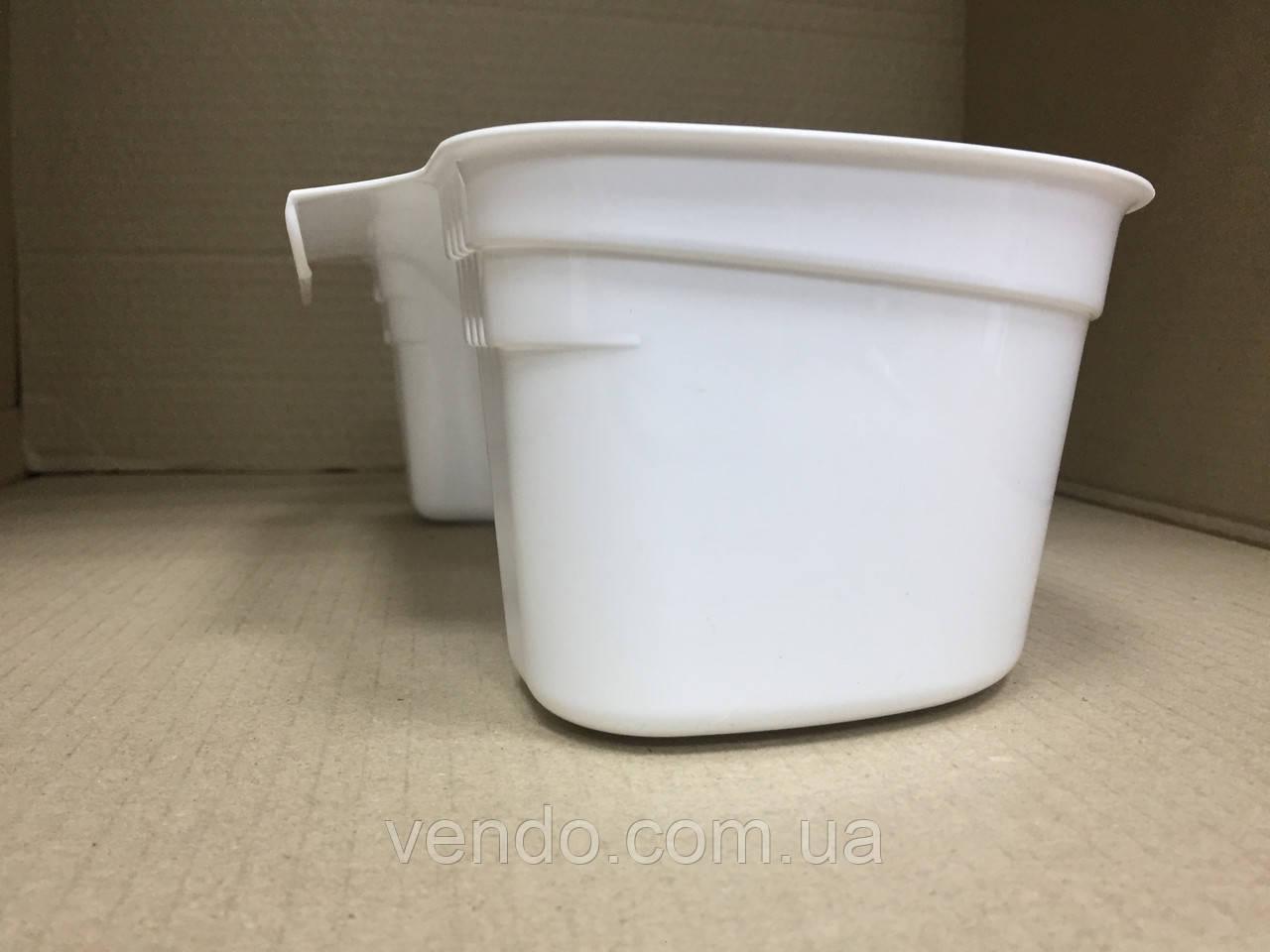 Ведро-контейнер навесное на дверцу мебели для мелкого мусора 5