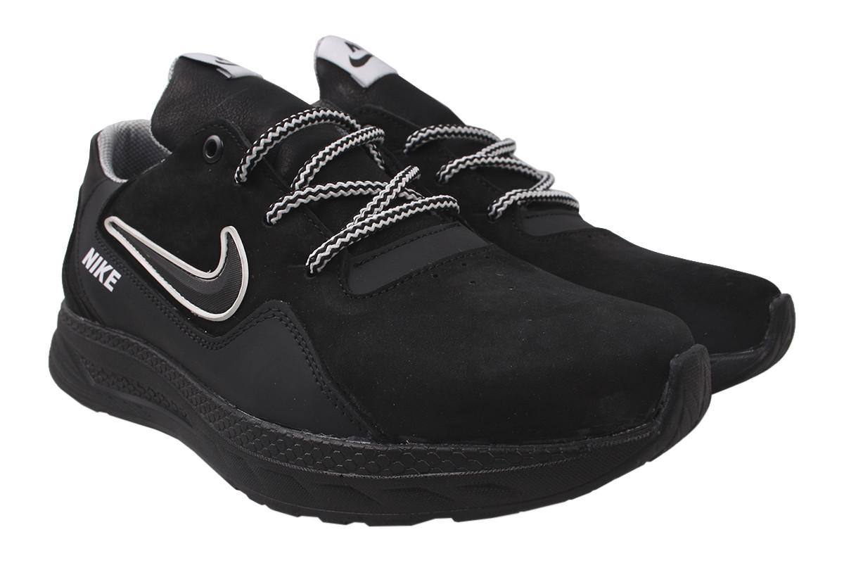 Туфлі чоловічі Cros Sav натуральна шкіра, колір чорний, розмір 40-45 Україна