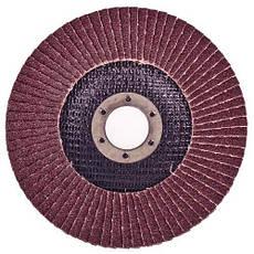 Alloid. Круг лепестковый торцевой 125 мм, зерно 100 (FD-125100), фото 3