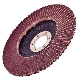 Alloid. Круг лепестковый торцевой 125 мм, зерно 100 (FD-125100), фото 2