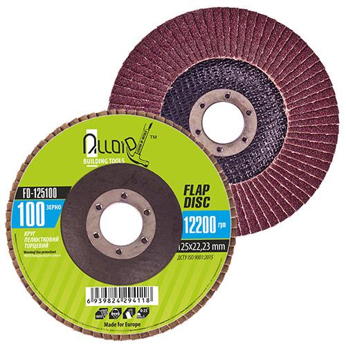 Alloid. Круг лепестковый торцевой 125 мм, зерно 100 (FD-125100)