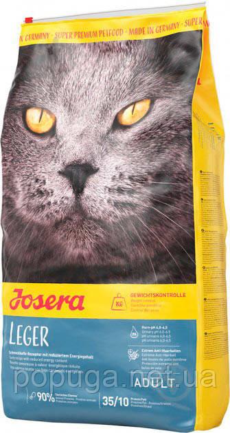 Корм Josera Cat Leger для стерилизованных и малоактивных кошек, 2 кг