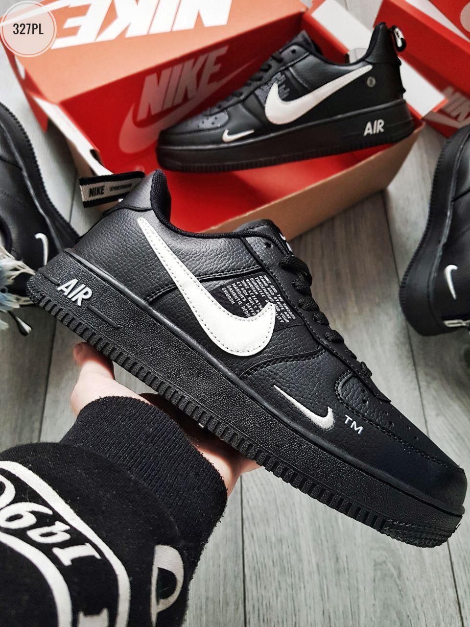 Мужские кроссовки Nike Air Force Low Black