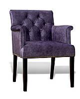Кресло Ришелье велюр фиолетовый
