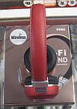 Наушники беспроводные Bluetooth JBL V682 (красные), фото 2