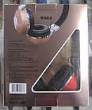 Наушники беспроводные Bluetooth JBL V682 (красные), фото 4