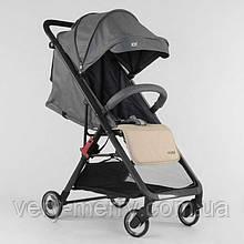 Дитяча прогулянкова коляска JOY Kamelia (сірий колір)