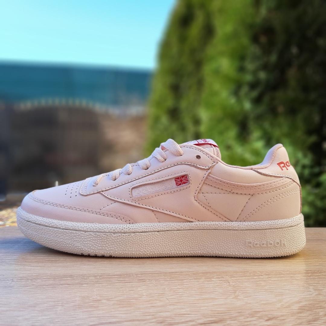 Кроссовки женские Reеbok Workout бледно-розовые