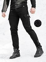 Теплые карго штаны BEZET Warrior black'20 - S, фото 1