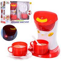 Кофеварка 7216  16см, звук, свет, посуда, на бат-ке, в кор-ке, 26-22-15см