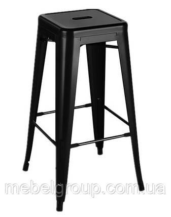 Стілець барний Толикс високий чорний, фото 2