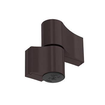 Завіса (петля) дверна Jocker-Alu коричневий