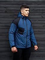 Осенняя куртка BEZET Hooligan black/blue'19 One Size