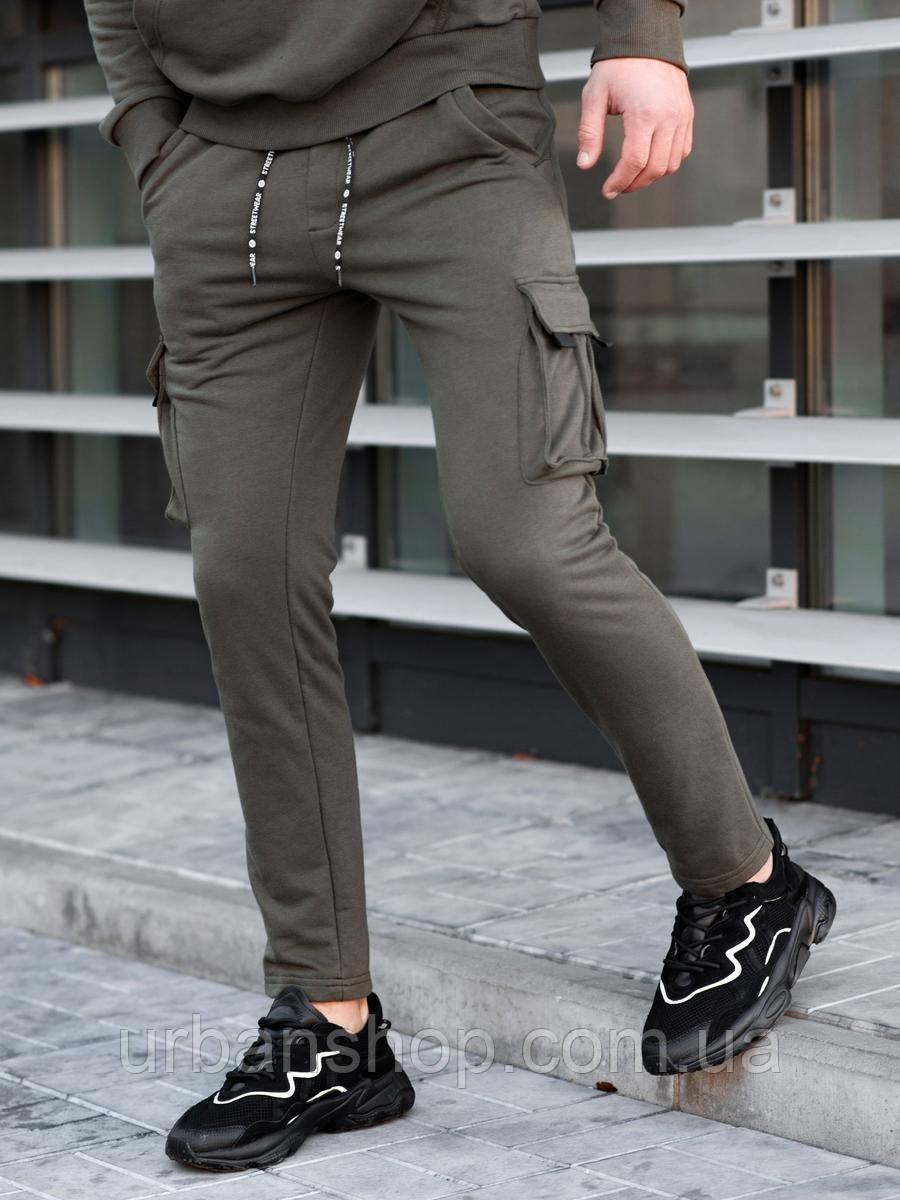 Спортивные карго штаны BEZET khaki'20 - XS