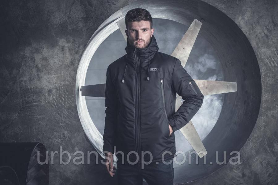 Зимняя Куртка BEZET Tech Black'19  One Size