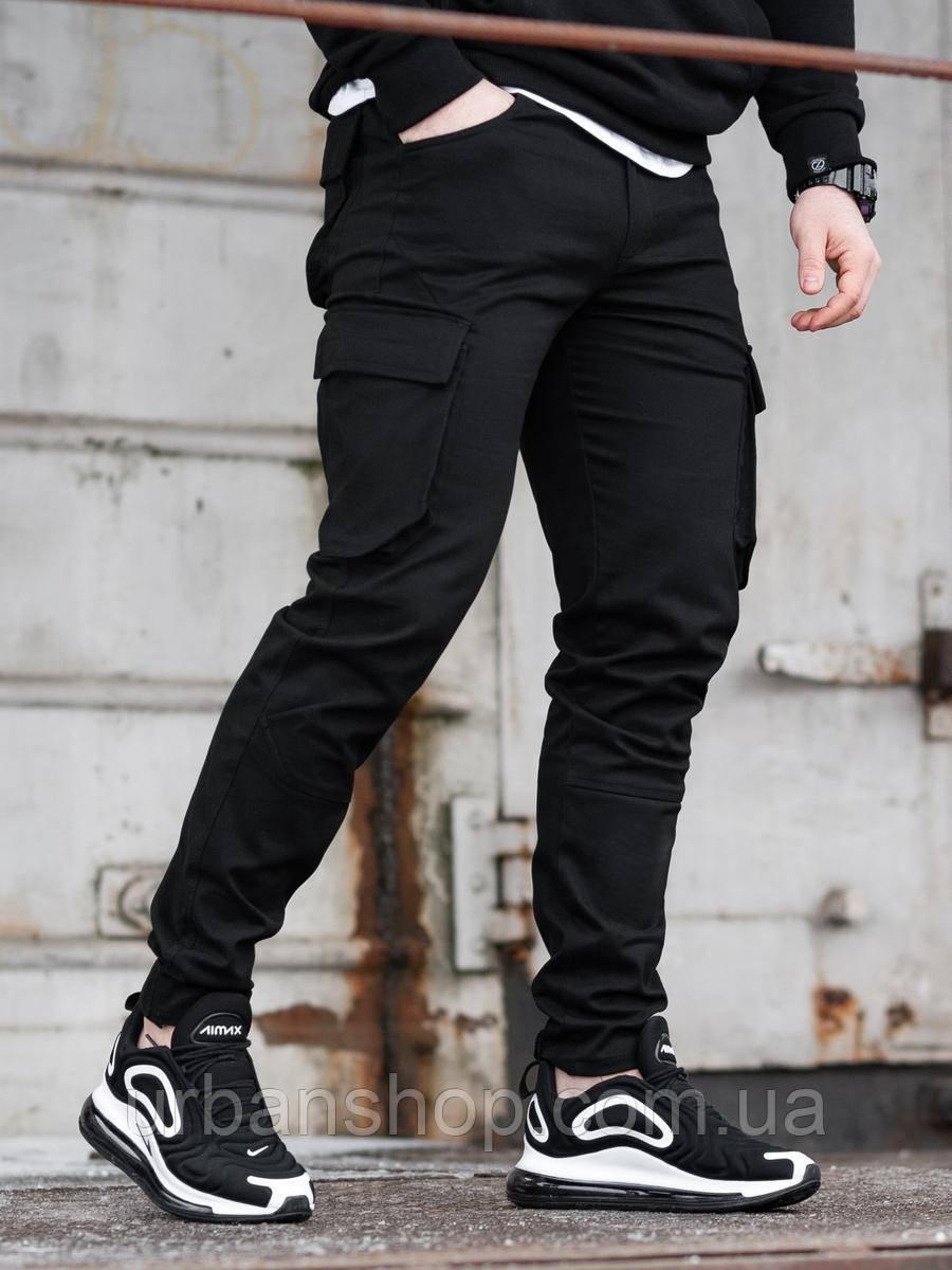 Карго брюки BEZET Tactic black'20 - M