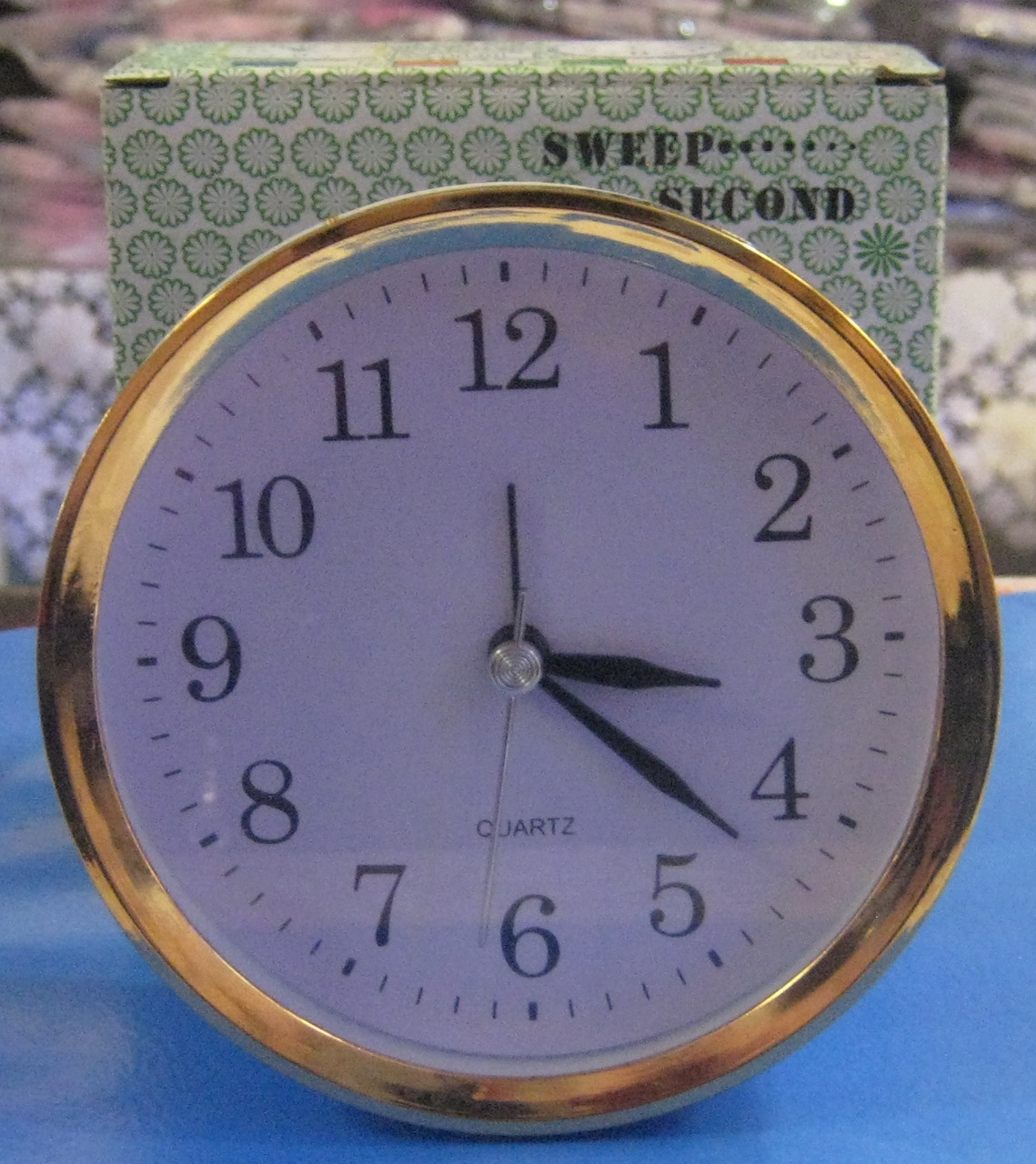 Будильник круглий AS-0031 (11 4 см)