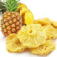 Фруктовые ананасовые чипсы 50 грамм, замена 450-500 г свежего ананаса, фото 1