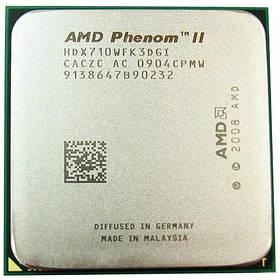 Процессор AMD Phenom II X3 710, 3 ядра 2.6ГГц, AM3