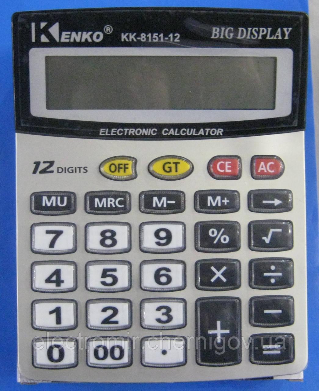 Калькулятор настільний Kenko KK-8151-12