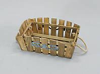Деревянное кашпо 320*160 малое, фото 1