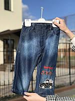 """Джинсы для мальчика """"Retro Black"""", рост 86 см (1 года/12 мес)"""