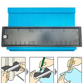 Шаблон для измерения очертаний 14см Контур для укладки ламината