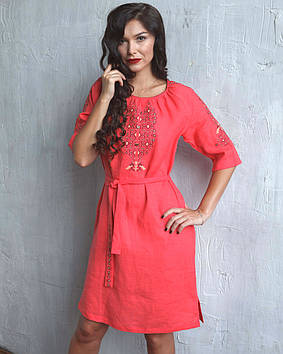 Ошатне жіноче плаття-вишиванка (S-2XL)