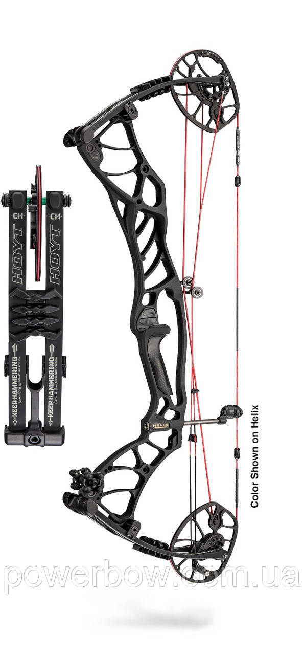 2019 HOYT HELIX ULTRA COMPOUND BOW (HUNTING COLORS) блочний лук