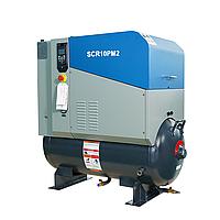 Винтовой компрессор 7,5 кВт, 0,28-1,1 м3/мин, 8 бар с частотным преобразователем