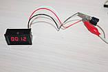Вольтметр DC-C 0-2000V (V27) Red цифры, фото 2