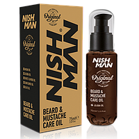Масло Для Бороды Nishman BEARD & MUSTACHE CARE OIL 75 Мл